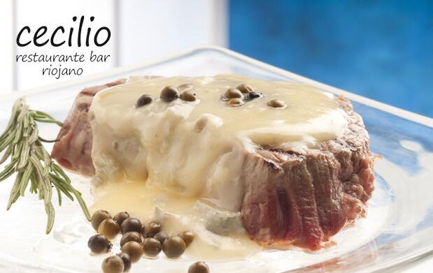 Delicioso menú en Restaurante Cecilio