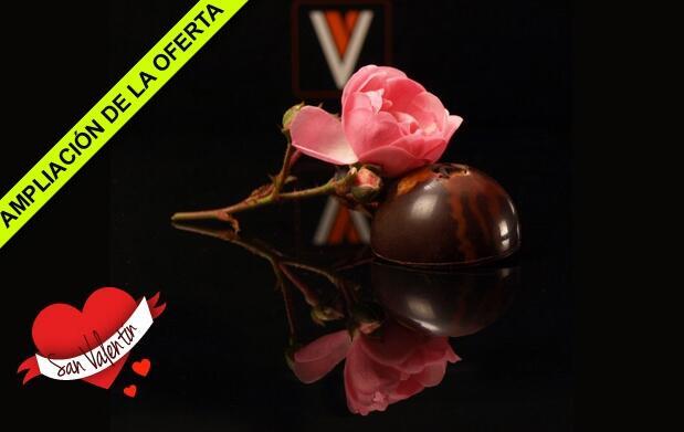 Regálale bombones en San Valentín