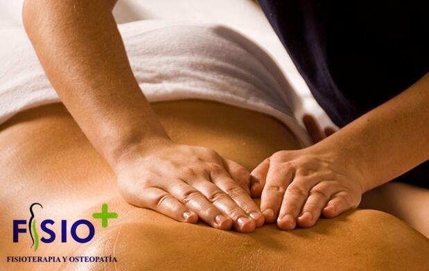 Sesión de fisioterapia-osteopatía