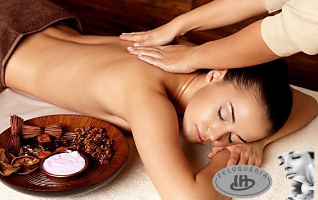Peeling de sales oceánicas y masaje