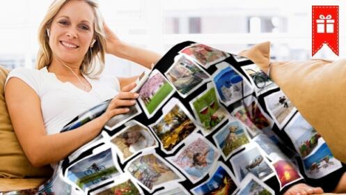 Manta personalizada con tus fotos descuento 49 - Mantas personalizadas con fotos ...