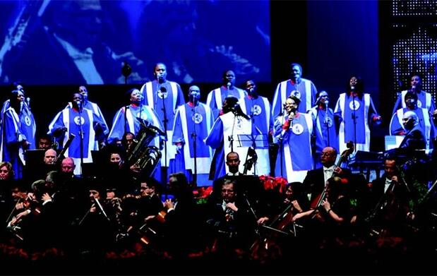 Mississippi Mass Choir en concierto