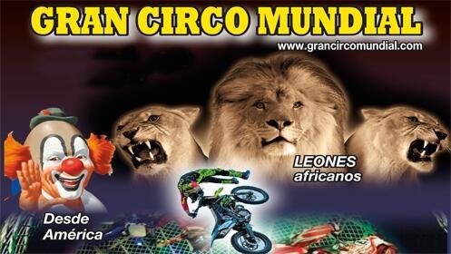 Entradas para el Gran Circo Mundial 21 septiembre. En palco, Butaca VIP