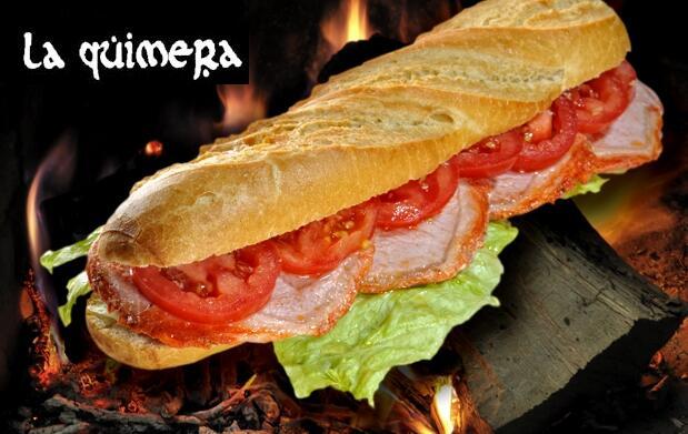 Menú de Hamburguesa o de Súper Bocata en La Quimera