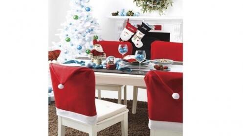 Fundas para silla Papa Noel