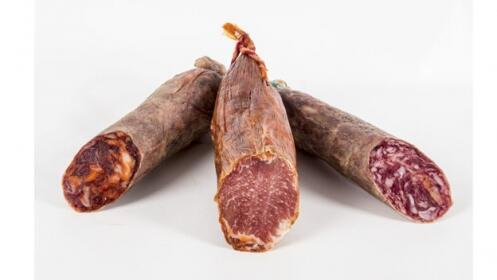Chorizo y Salchichón ibérico + Lomo ibérico bellota