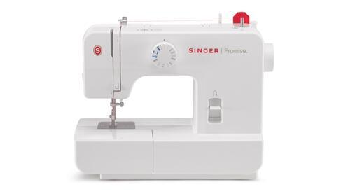 Máquina de coser Singer Promise 1408 Sistema Pressomatic, 8 bordados diferentes, Mando giratorio