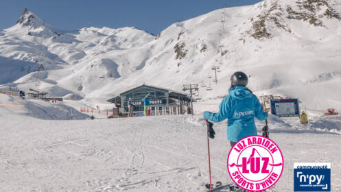 ¡Conoce y disfruta  las pistas de  esquí LUZ ARDIDEN!