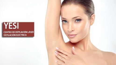 50% de descuento en depilación láser