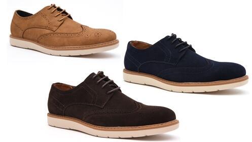 Zapatos Blucher Picado para caballero