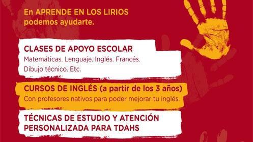 Aprende en Los Lirios y en El Arco, tu academia de referencia
