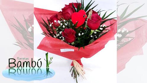 Regala rosas por San Valentín, un detalle que le enamorará