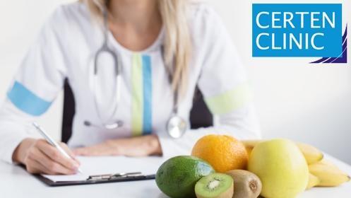Estudio nutricional de Certen Clinic por profesionales diplomados