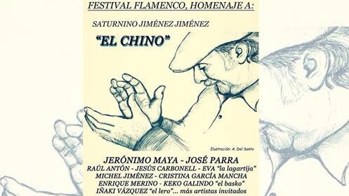 Festival flamenco homenaje a El Chino, en Logroño