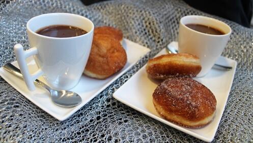 Ven con quien quieras a probar el mejor chocolate a la taza de Logroño