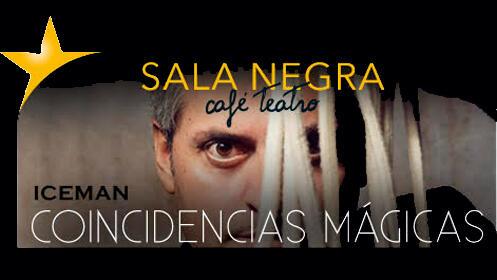Coincidencias mágicas con el mago Iceman en la Sala Negra Café Teatro