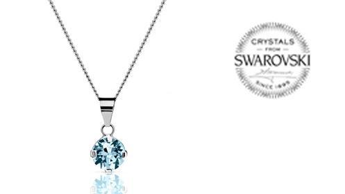 Colgante Abril de Swarovski Crystals