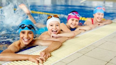 Curso intensivo de natación en Spa Columnata