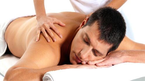 1 Hora de masaje relajante con aceites esenciales