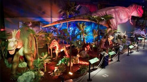 Dinosaurs Tour, vive una experiencia jurásica del 17 al 25 de marzo