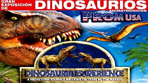 'Dinosauria Experience' Exposición de dinosaurios animatrónicos