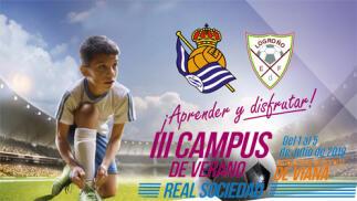 III Campus de verano Real Sociedad. Del 1 al 5 de julio