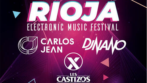 Rioja electronic music festival en el Palacio de los Deportes