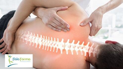 Sesión de fisioterapia y osteopatía en Fisioforma