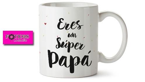 Regala tazas y cojines personalizados por el Día del Padre