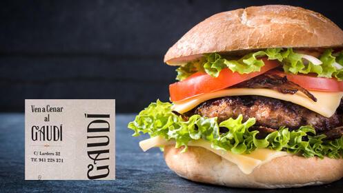 Prueba las mejores hamburguesas de Logroño en el Café Gaudí