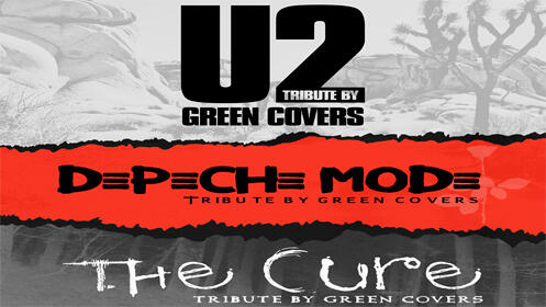 Green Covers en Logroño. Tributo a U2, Depeche Mode y The Cure