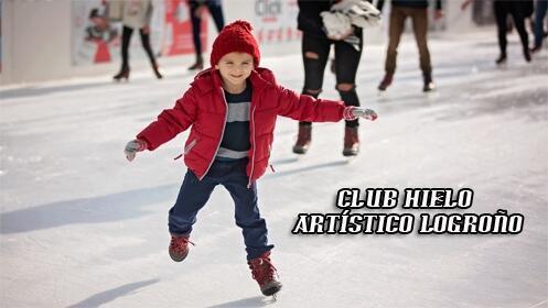 Diviértete patinando sobre hielo, clases de iniciación