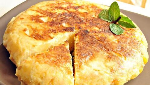 Prueba la riquísima tortilla de patata del Bar Imperial