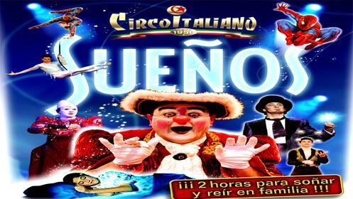 Entradas para el Il Circo Italiano 20 septiembre. En ZONA VIP
