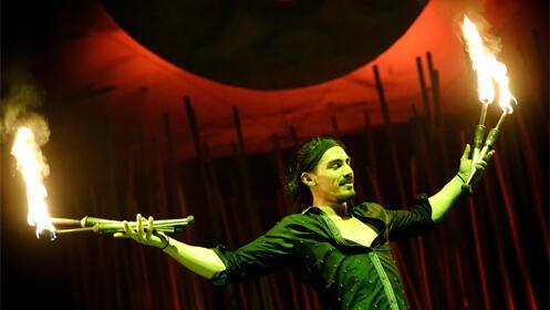 Entradas para el Il Circo Italiano 17 septiembre. En ZONA VIP