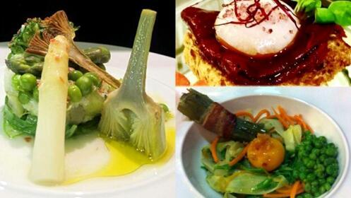 Taller de cocina vanguardista en Restaurante Letras.29 de mayo
