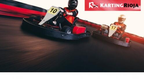 Vive la emoción de los karts en Karting Rioja: karts + refresco