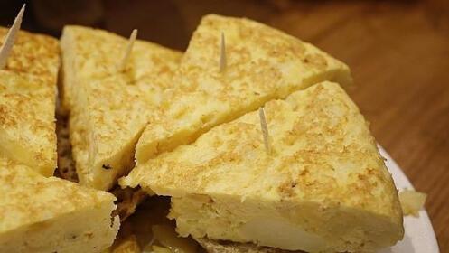 Elige la tortilla de patata para llevar que prefieras