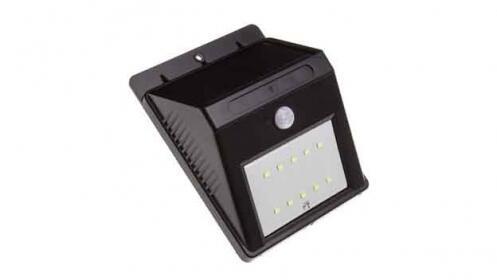Luz Led solar con sensor