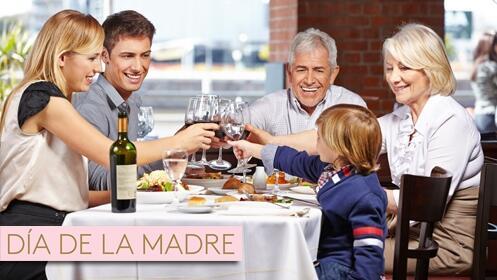 Menú la Bellota, Especial día de la Madre
