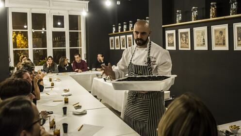 Master Class en Moderna Tradición+cata. Descubre la mejor cocina de temporada