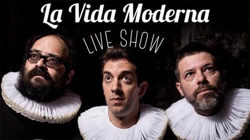 La Vida Moderna LIVE SHOW en el Palacio de Deportes