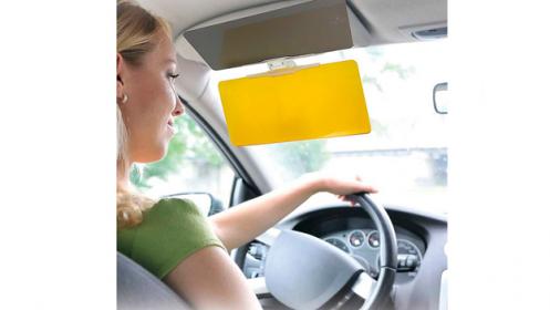 Parasol HD Vision Visor para el coche