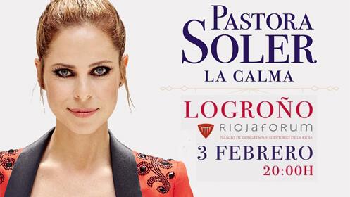 Concierto de PASTORA SOLER en Riojaforum