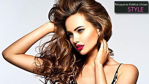 Sesión completa de peluquería para mujer ¡cambia tu look y cuida tu cabello!