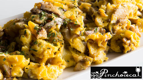 Ven a probar el el menú de primavera de La Pinchoteca