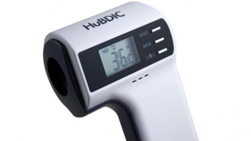 Termómetro clínico sin contacto con la piel