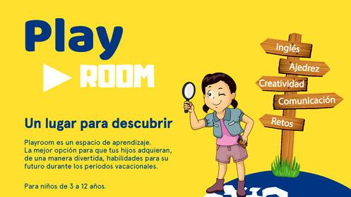 Actividades vacacionales para niños en Playroom