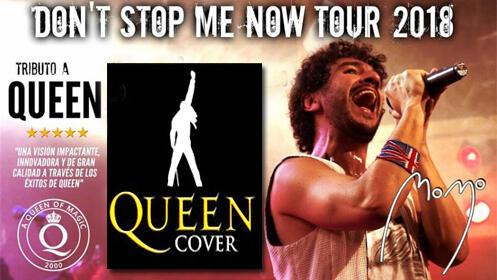 La mejor banda tributo a Queen de Europa, MOMO en Sala Norma