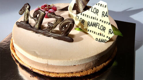 Celebra la navidad con la tarta 1979 de Pastelería Ramflor
